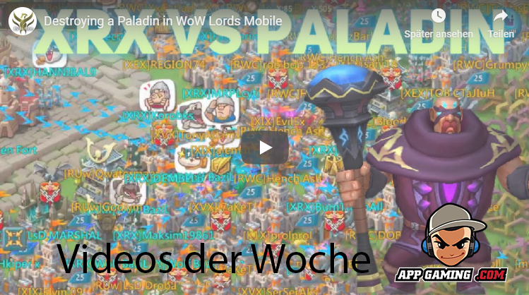 App-Gaming Video der Woche